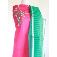 Magenta pink kota churidar set