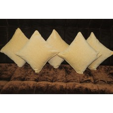 Tint of gold cushion covers