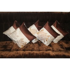 Flowered cushion covers