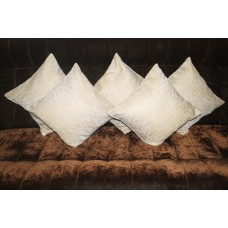 Golden cushion covers