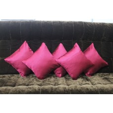 Flash of red cushion covers