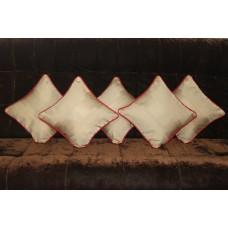 Beige cushion covers